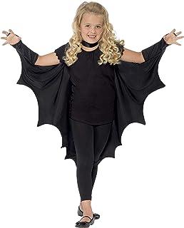 Smiffys Déguisement Ailes de chauve-souris vampire pour enfant  Noir