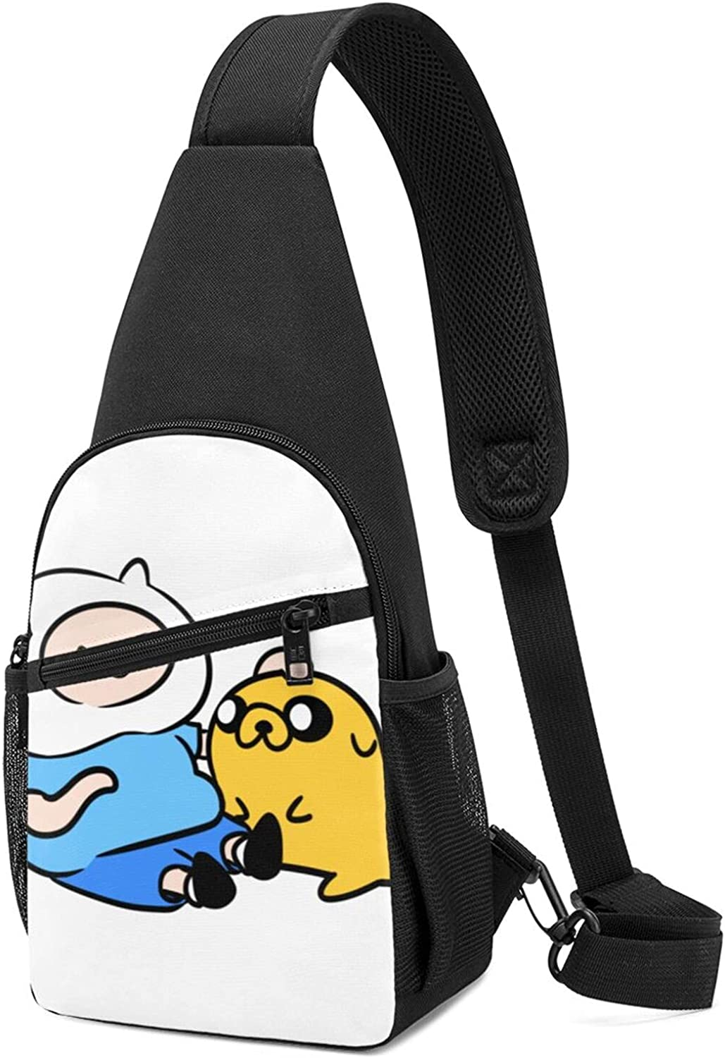 Dealing full price reduction Chest Bag Adventure Time Finn And Sling Shoulder Mini Jake B Sales for sale