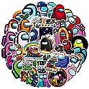 100pcs Among Us Doodle Dibujos Animados Pegatinas Sttoce Among Us Juego Fandom Pegatinas Juego Fandom Pegatinas Impermeables Etiquetas Engomadas del Ordenador Port/átil de la Maleta para los ni/ños