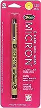 Sakura Pigma Pen 03 / . 35mm Black