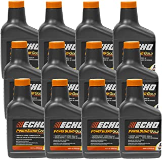 Replaces Echo 12PK Echo Oil 12.8 oz Bottles 2 Cycle Mix for 5 Gallon - Power Blend 6450005