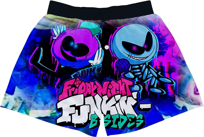 Friday Night Funkin Boys' Underwear, Children and Adolescents, 3D Printed Boxer Briefs, Shorts, Men's Underwear