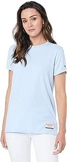 TOMMY HILFIGER Women's Organic Cotton Crew Neck T-Shirt