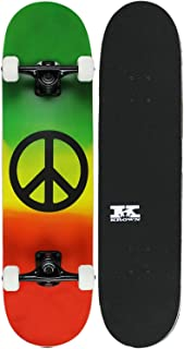 rasta element skateboard