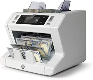 Safescan 2650 - High-Speed Bill Counter for Sorted Bills with 3-Point Counterfeit Detection