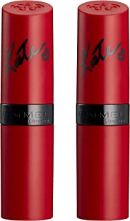 Rimmel,  Lasting Finish By Kate Lipstick - Matte Collection, 107 (2-Pack)