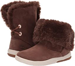 Toddle Tracks Faux Shearling Bootie (Toddler/Little Kid)