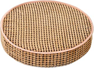 HyFanStr Comfortable Round Stool Cushions, Memory Foam Chair Pads for Kitchen Chairs, Garden Seat Pads (Brown,19