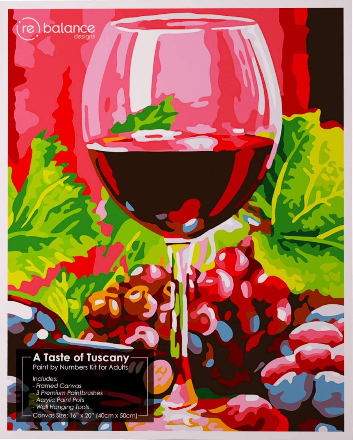 Paint by Numbers for Adults Framed of Beginner Taste Italy - Limited Special Price 25% OFF D