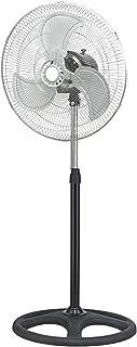 Ventilador de Pie Novus, 90W, Metálico, Oscilante, con Tres Velocidades, Altura Ajustable
