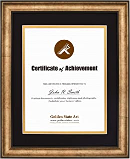 8.5 x 5.5 Inches Real Estate License Certificate Wood Frame