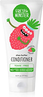 Sponsored Ad - Fresh Monster Natural, Toxin-free Kids Hair Conditioner, Strawberry Smoothie (1 Count, 6oz)