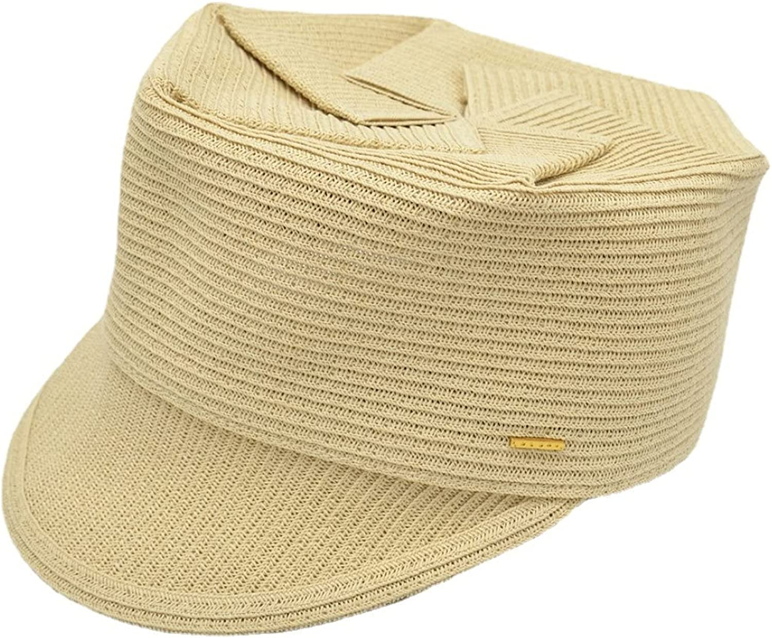 Fashion Flat Top Folding Equestrian Hat Summer Ou Dedication Casual Sale special price Cap