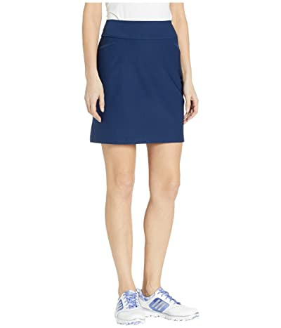 adidas Golf Adistar Pull On 18 Skort (Night Indigo) Women