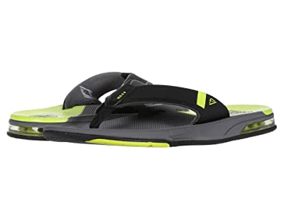 Reef Fanning Low (Grey/Lime) Men