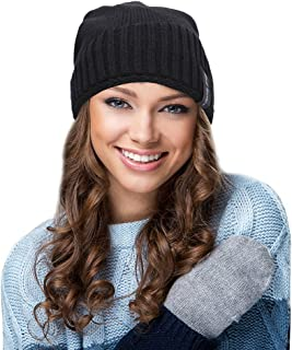 EGOGO Beanie Knit Hat with Fleece Lining Oversized and Lightweight Snow Ski Skull BeanyCap For Men and Women E601-3
