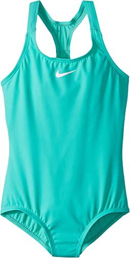 Nike Kids Solid Racerback Sport One-Piece (Little Kids/Big Kids)