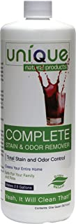 Unique Complete - Odor and Stain Remover | Bacterially Based Safe Stain Remover