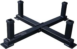 Powertec Fitness Workbench Accessory Rack Black