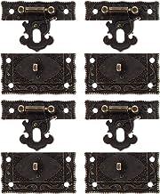 Angoily Hout Case Borst Box Kluwen Klink Antieke Doos Lock Klink Decoratieve Klink Doos Gesp Lock Voor Display Box Kast De...