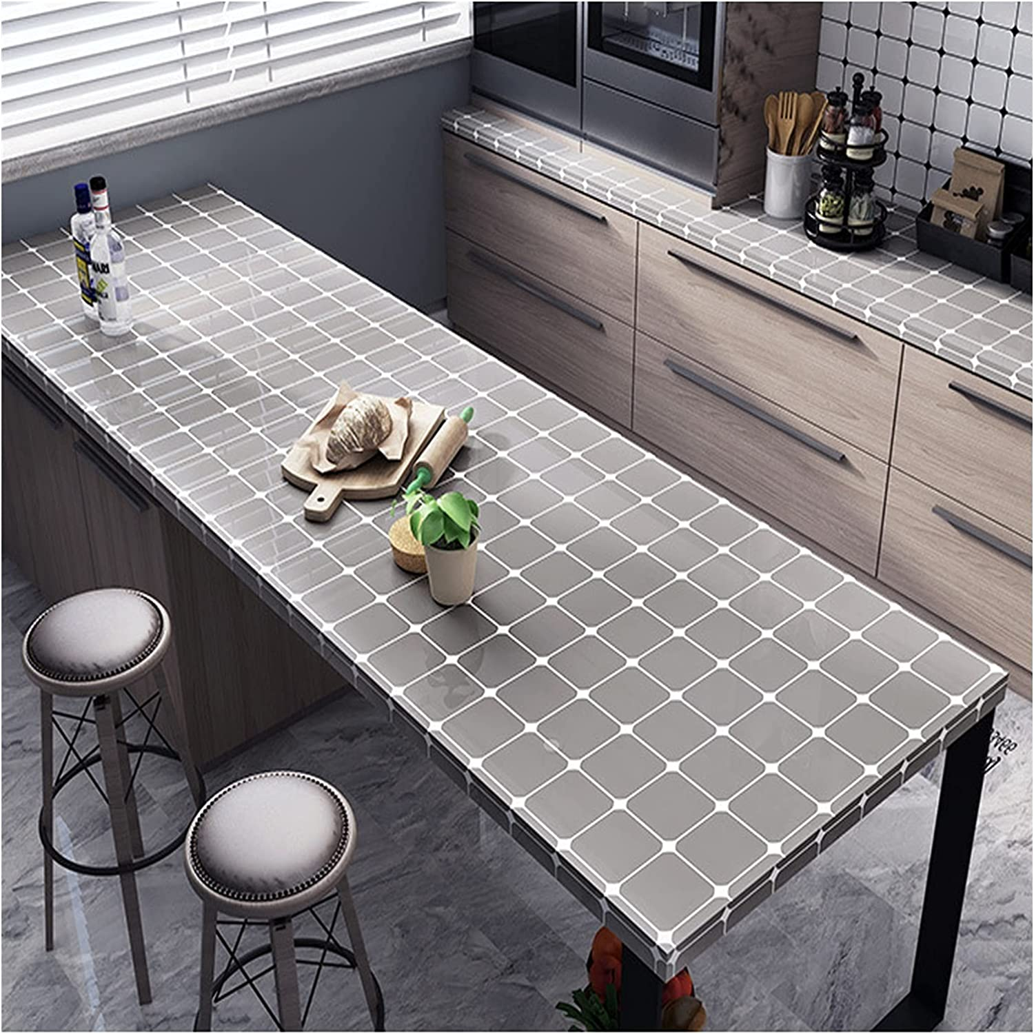 famous KJHJ 80 Max 51% OFF cm Wide Kitchen Waterproof Proof Stickers and Oil Kitche