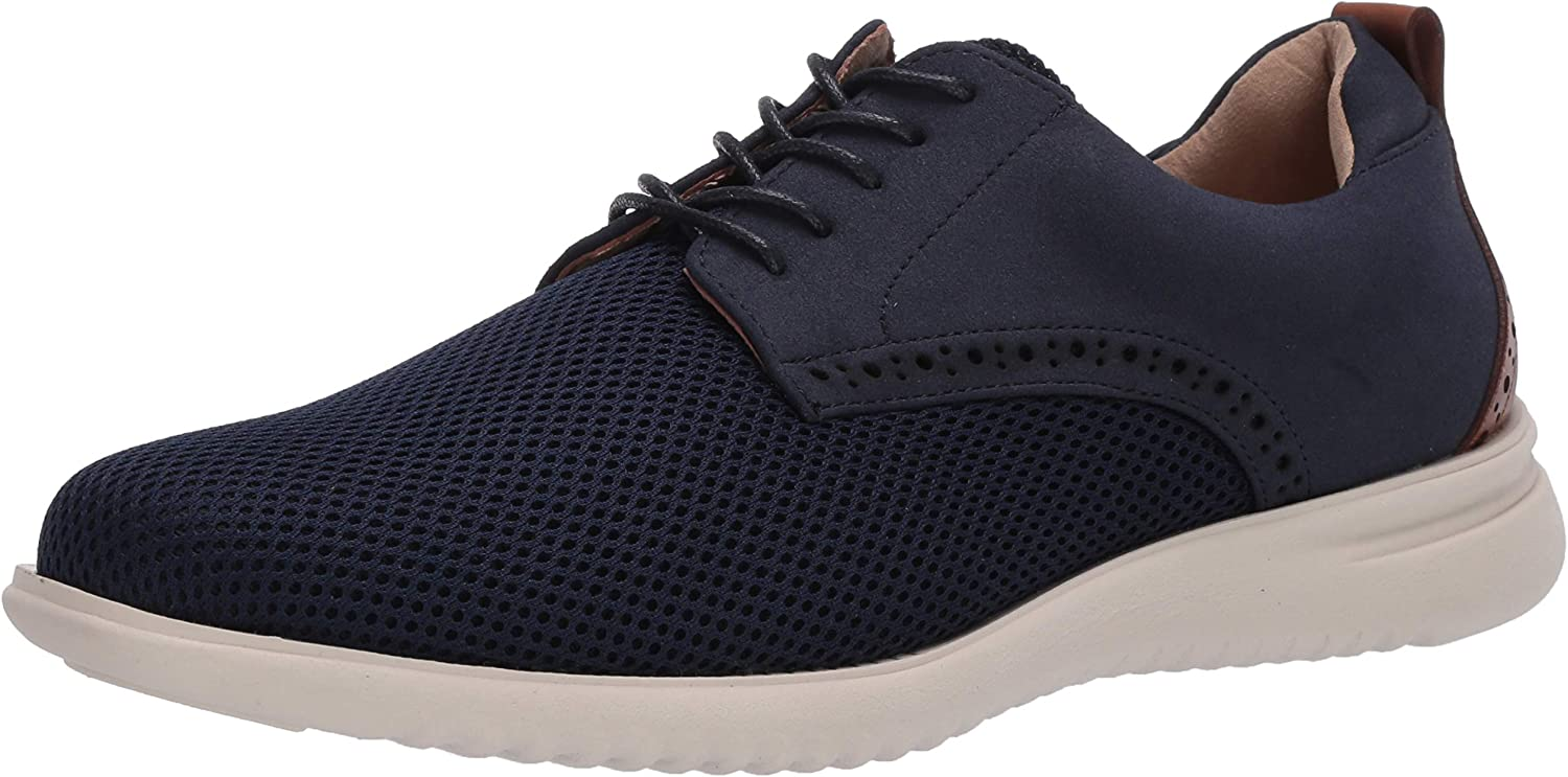 Unlisted by Kenneth Cole Men's Nio Lace Up MSH Oxford, Navy, 11
