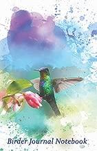 """Birder Journal Notebook: 5.5 x 8.5"""". Bird Watching Log, Ideal Gift for Birders and Bird Watchers"""