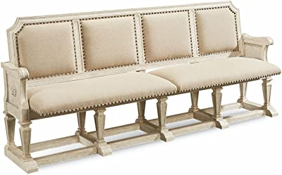 Amazon.com: PadmaS Plantation Dining Bench Atlantic Beach ...