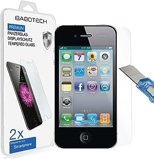 Babotech 3D touch härdat glas, 9H hårdhet premium härdat glas reptåligt skärmskydd för Apple iPhone, Samsung Galaxy, HTC s...