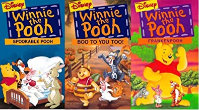 Winnie the Pooh: Spookable Pooh / Frankenpooh / Boo To You Too! - VHS 3 Pack