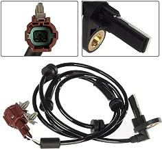 AUTEX 1pc ABS Wheel Speed Sensor Rear Left compatible with Nissan Titan 2004-2011 5.6L