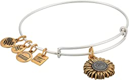 Charity By Design Sunflower II Two-Tone Bangle Bracelet