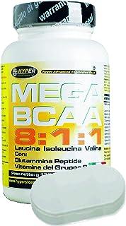 BCAA 8:1:1 Aminoácidos Ramificados + Titular