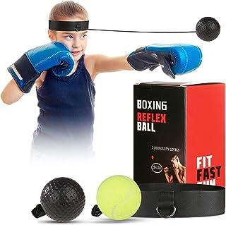 OOTO - Balón de boxeo mejorado, balón de entrenamiento de boxeo, entrenamiento de velocidad Mma, apto para adultos/niños, mejor equipo de boxeo para entrenamiento, coordinación de mano y fitness.
