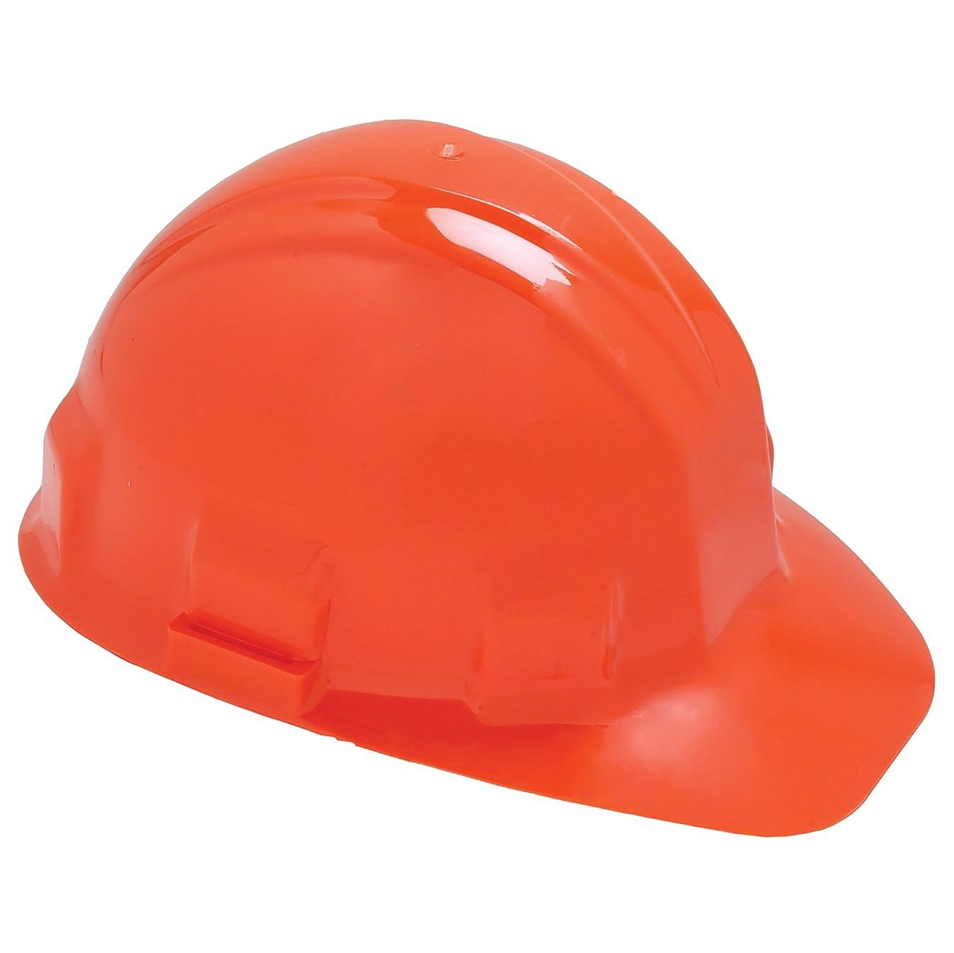 ストレージ枠カメJackson Safety 14420 Sentry III High Density Polyethylene Hard Hat with 6 Point Ratchet Suspension, Orange (Pack of 12) by Jackson Safety