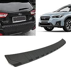 Toryea Rear Bumper Guard Exterior Rear Door Sill Protector Fit Subaru XV Crosstrek 2018 2019