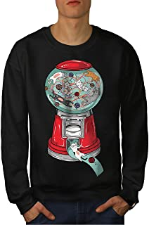 Chaos Play Casual Jumper wellcoda Gumball Machine Mens Sweatshirt