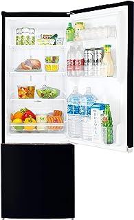 東芝 2ドア ミニ冷凍冷蔵庫 170L GR-R17BS-K セミマットブラック