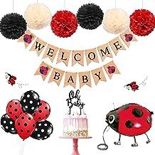 Ladybug baby shower Decor Ladybug birthday party decor Ladybug Wreath Bow Ladybug Wedding Decoration Ladybug Party Decorations Gifts Bow