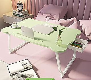 JBHURF Lit Pliage Table Portable Lit Lit Table Tap Tap Table Lit et canapé-lit Bac Petit-déjeuner Plateau Plat Pliage Plat...