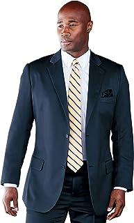 Kingsize Signature Collection Men's Big & Tall Kingsize Signature Collection Easy Movement Two-Button Jacket