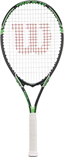 "Wilson Adult Recreational Tennis Racket – Size 4 1/8"", 4 1/4"", 4 3/8"", 4 1/2"""