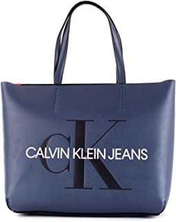 Calvin Klein Tote Bag for Women-Blue