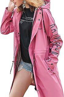 PLAER Rainfreem - Chubasquero con capucha para mujer