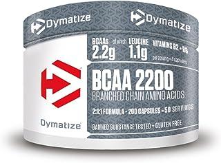 Dymatize BCAA 2200 Caps 12x200pcs - Suplemento - Aminoácidos