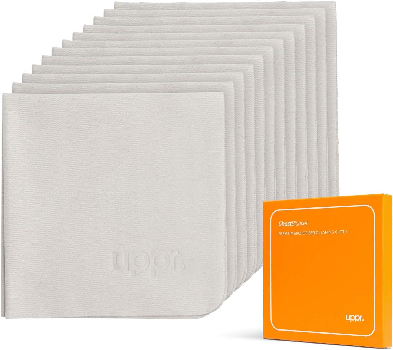 Paños de microfibra para pantallas 16 x 16 cm (Pack de 12)