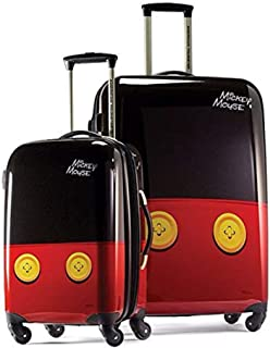 Disney Hardside Luggage with Spinner Wheels, Mickey Mouse...