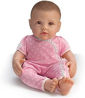 The Ashton - Drake Galleries So Truly Mine Lifelike Baby Doll for Kids Ages 3+: Dark Brown Hair, Brown Eyes