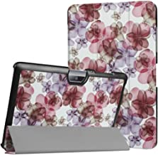 WiTa-Store Cover for Acer Iconia Tab One 10 B3-A30 B3-A32 A3-A40 10.1 Inch Case Bookstyle Cover Sleeve (Spring Flowers)