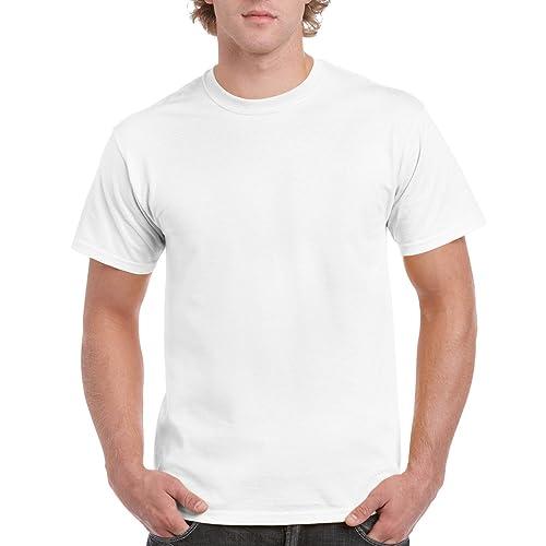 16efb2be97cc Gildan Men s Classic Ultra Cotton Short Sleeve T-Shirt